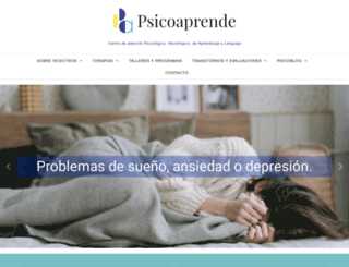 psicoaprende.com screenshot