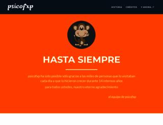 psicofxp.com screenshot