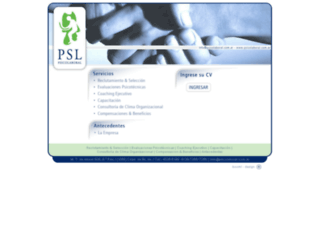 psicolaboral.com.ar screenshot