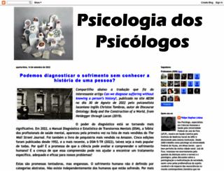 psicologiadospsicologos.blogspot.com.br screenshot