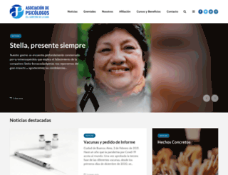psicologosgcaba.org.ar screenshot