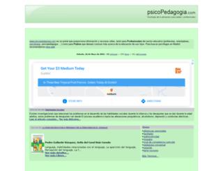 psicopedagogia.com screenshot