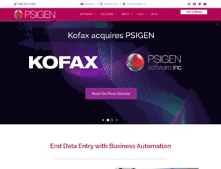 psigen.com screenshot
