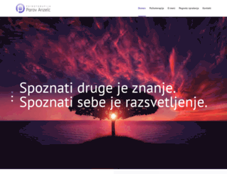 psihoterapija-anzelc.si screenshot