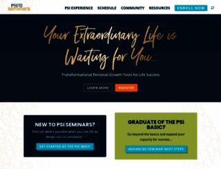 psiseminars.com screenshot