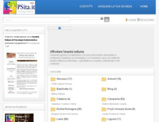 psita.it screenshot