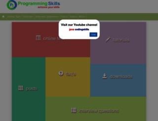 pskills.org screenshot