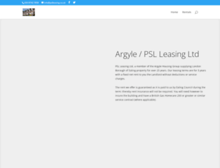 pslleasing.co.uk screenshot