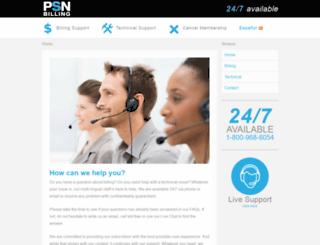 psnbilling.com screenshot