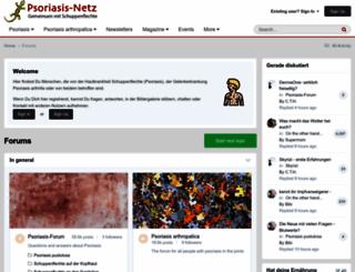 psoriasis-netz.net screenshot