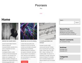 psoriasisblog.nl screenshot
