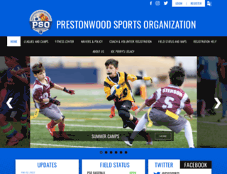 psosports.com screenshot