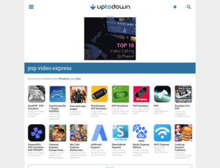 psp-video-express.uptodown.com screenshot