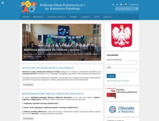 psp7radom.edupage.org screenshot