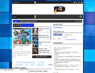 pspfilez.blogspot.com screenshot