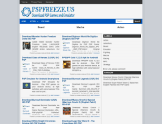 pspfreeze.blogspot.com screenshot