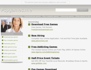 pspgames.me screenshot