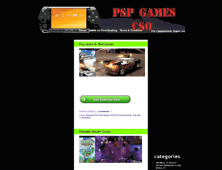pspgamescsoiso.blogspot.com screenshot