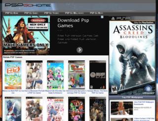 pspgohome.com screenshot