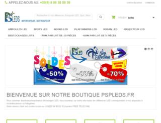 pspleds.fr screenshot