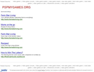 pspmygames.org screenshot
