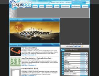 pspspot.net screenshot