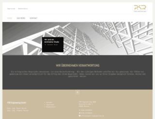 psr-architekten.de screenshot