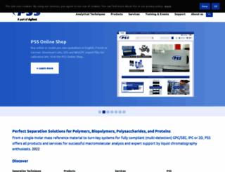 pss-polymer.com screenshot