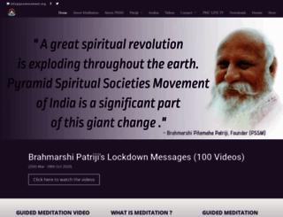 pssmovement.org screenshot