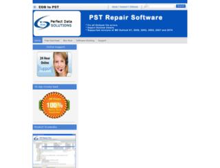 pstfile.edbfiletopstconverter.com screenshot