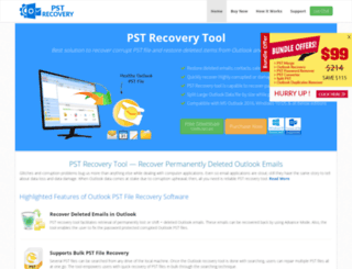 pstrecovery.us screenshot