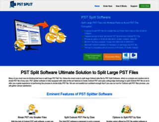 pstsplit.net screenshot
