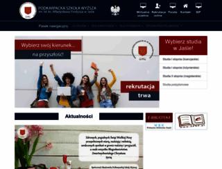 psw.jaslo.pl screenshot