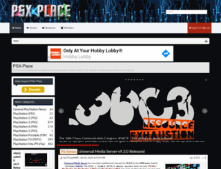 psxplace.com screenshot