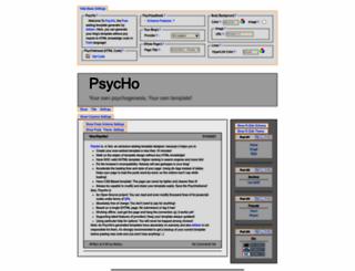 psyc.horm.org screenshot