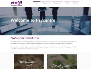 psycentre.com screenshot