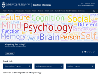 psych.utoronto.ca screenshot