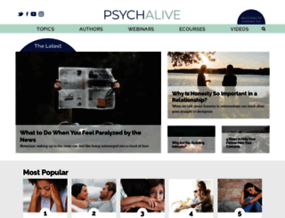 psychalive.org screenshot