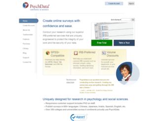 psychdata.com screenshot