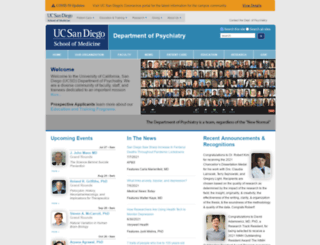 psychiatry.ucsd.edu screenshot