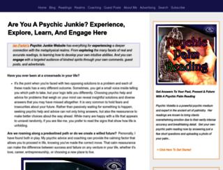 psychic-junkie.com screenshot