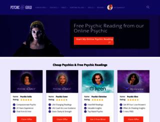psychicguild.com screenshot