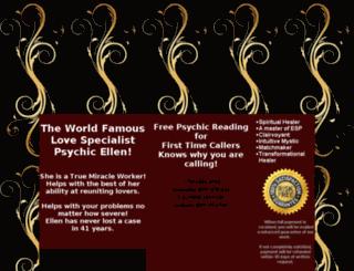 psychicmiraclecenter.com screenshot