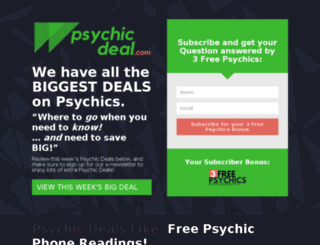 psychicrated.com screenshot