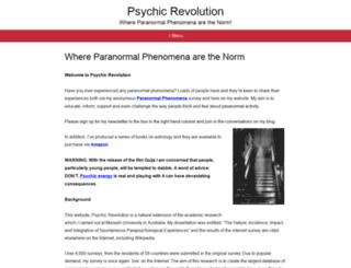 psychicrevolution.com screenshot