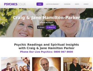 psychics.co.uk screenshot