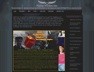 psychicwarfare.com screenshot