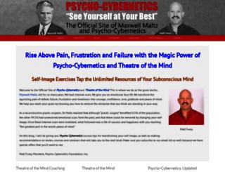 psycho-cybernetics.com screenshot