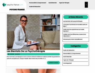 psycho-france.com screenshot