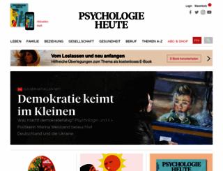 psychologie-heute.de screenshot